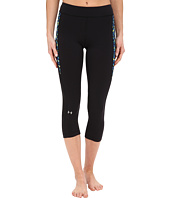 Under Armour - HeatGear® Armour Print Inset Crop Pants