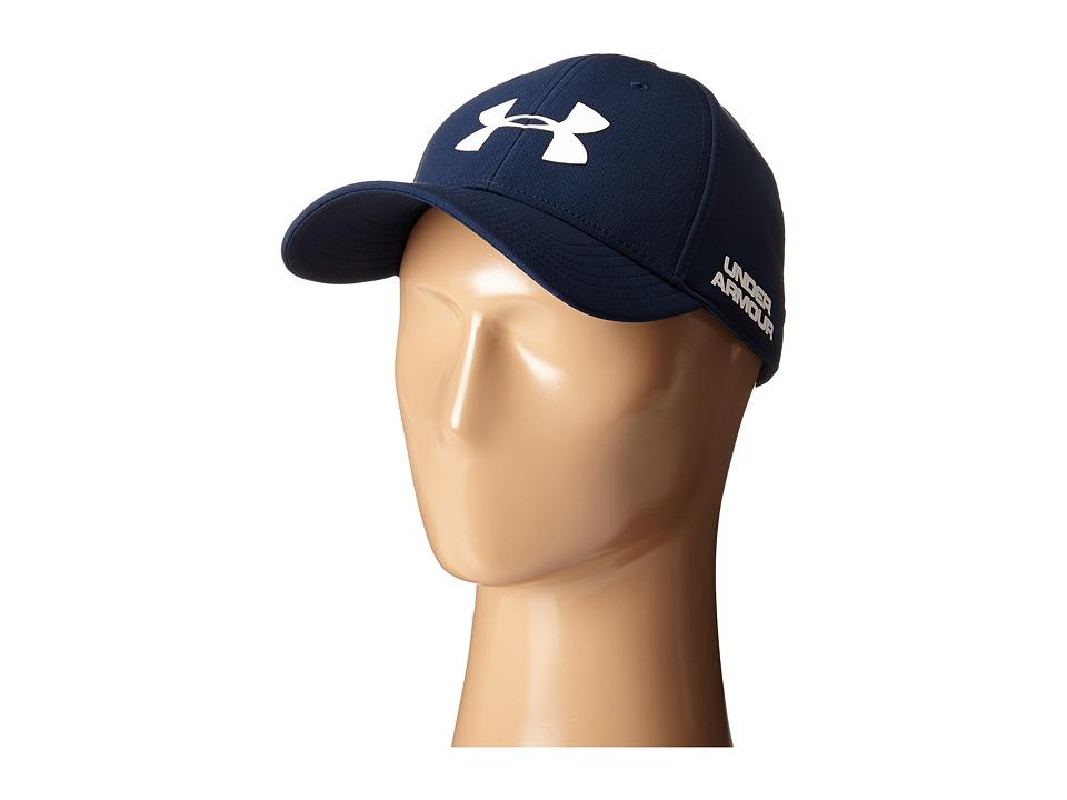 Under Armour - UA Golf Headline Cap (Academy/White) Caps