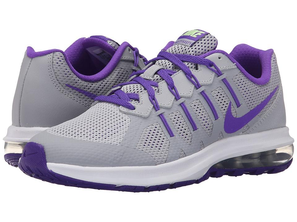 Nike Kids Air Max Dynasty Big Kid Wolf Grey/Ghost Green/White/Hyper Grape Girls Shoes