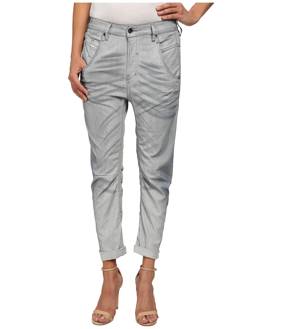 Diesel Fayza L.32 Trousers White Womens Casual Pants