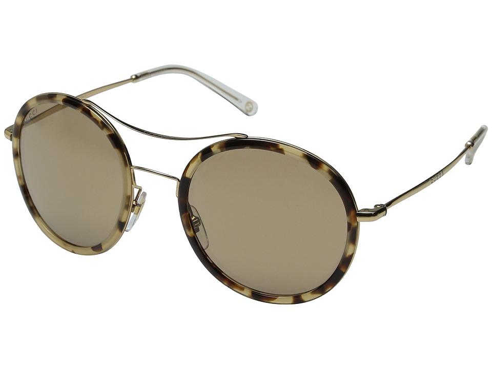 Gucci GG 4252/N/S Havana Honey Gold/Brown Mirror Fashion Sunglasses