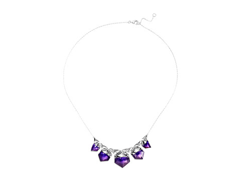 Stephen Webster Superstud Crystal Haze Necklace - Pale Amethyst/White Mother-of-Pearl/Clear Quartz