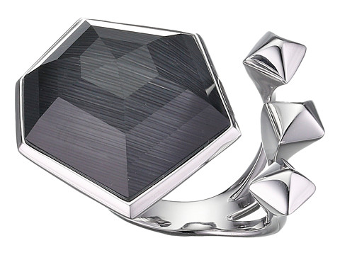 Stephen Webster Superstud Crystal Haze Ring - Grey Cats Eye/Clear Quartz