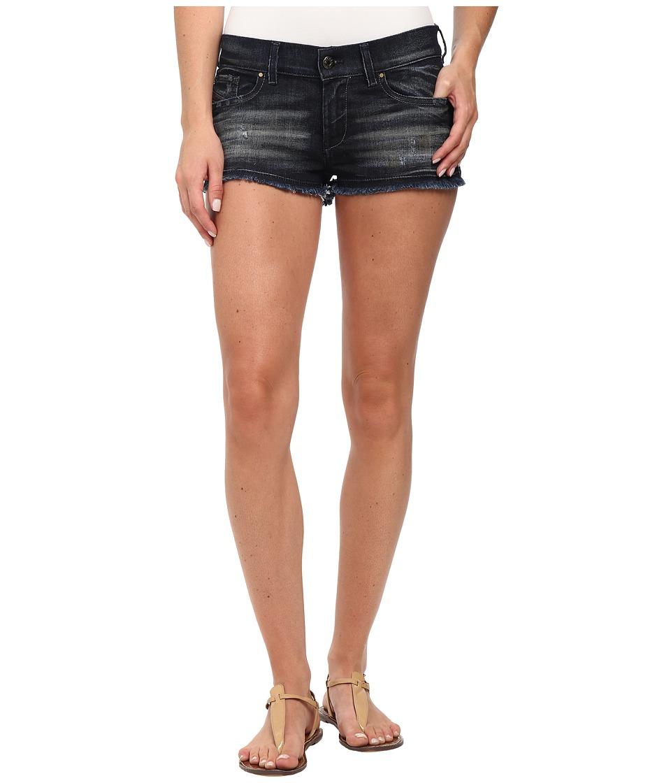 Diesel De Scoss Shorts in Denim Denim Womens Shorts