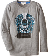 Appaman Kids - Long Sleeve Graphic Tee - Spray Bernard (Toddler/Little Kids/Big Kids)