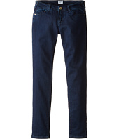 Armani Junior - Dark Wash Jeggings in Navy (Big Kids)