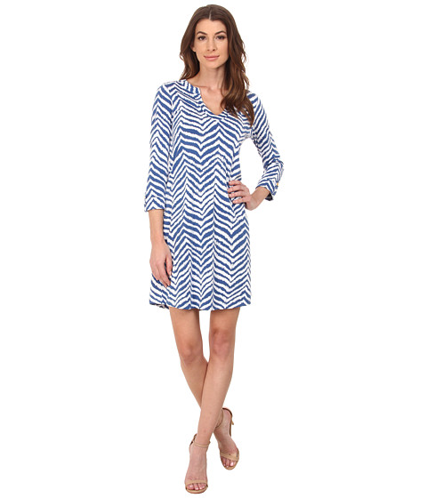 Lilly Pulitzer - Rossmore Dress (Indigo Zebron) Women's Dress