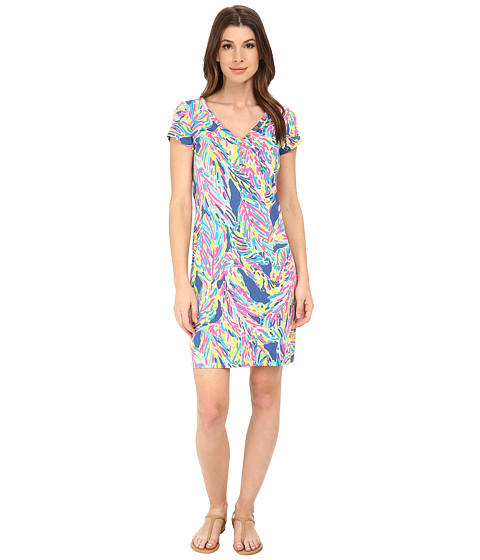 Lilly Pulitzer - Palmira Dress (Blue Crush Bamboom) Women's Dress