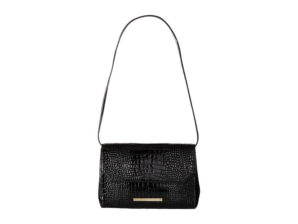 Brahmin Carina Black Shoulder Handbags