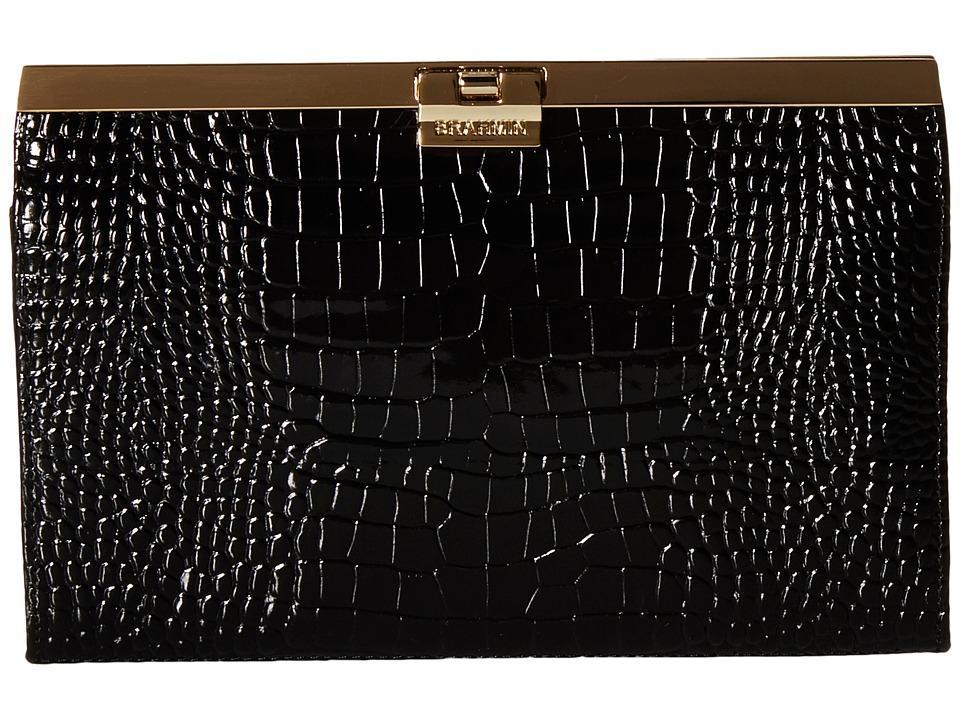 Brahmin Avery Black Clutch Handbags