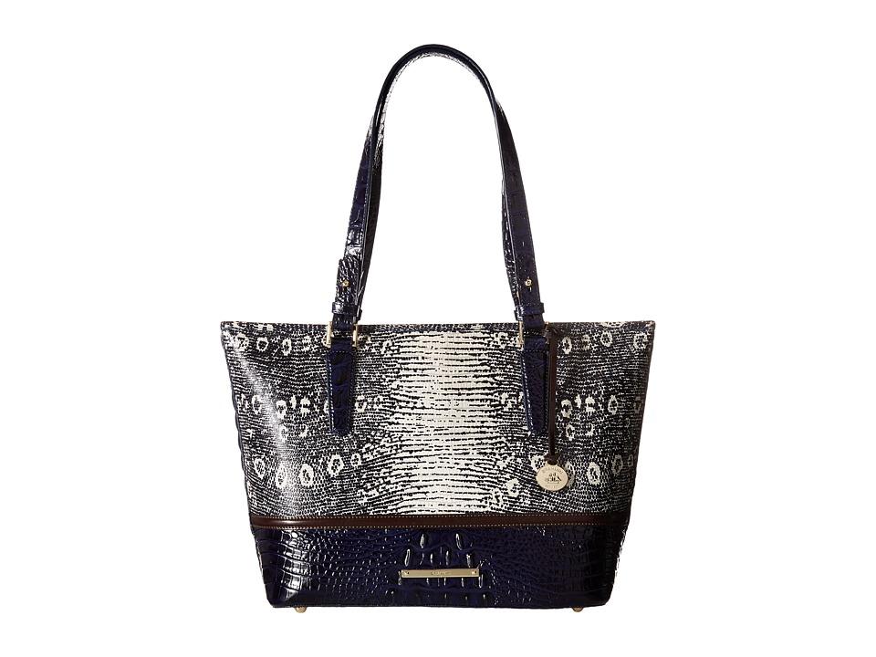 Brahmin Medium Asher Tuxedo Tote Handbags