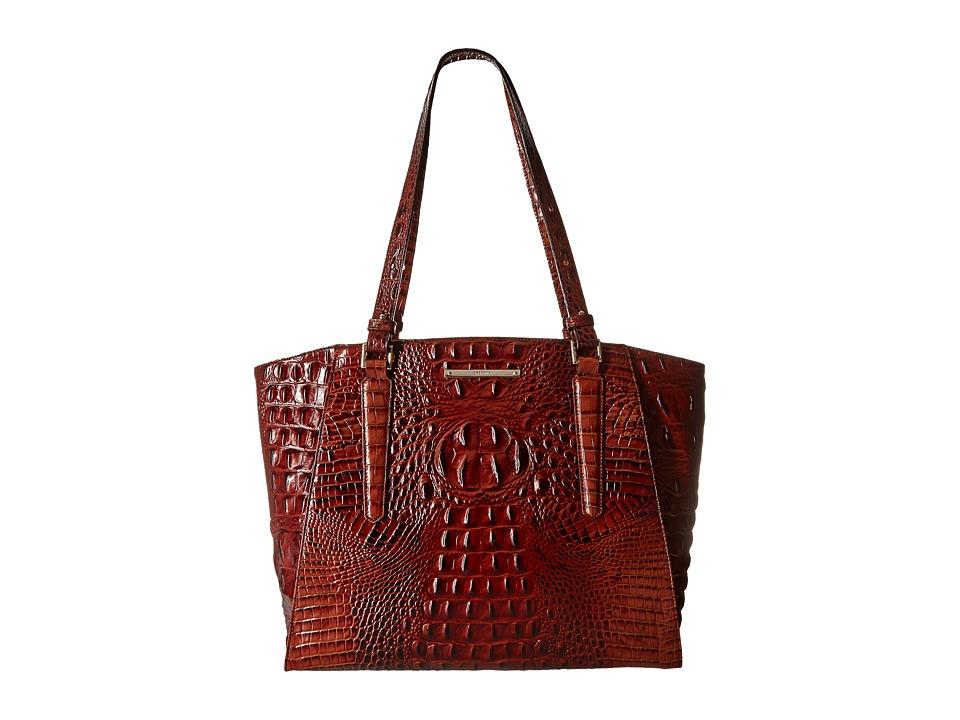 Brahmin Paris Pecan Tote Handbags