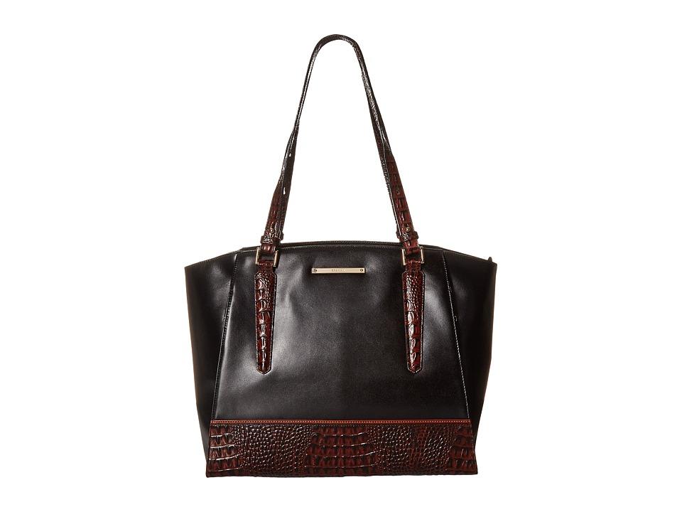 Brahmin Paris Black Tote Handbags