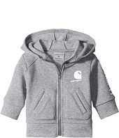 Carhartt Kids - Logo Zip Sweatshirt (Infant)