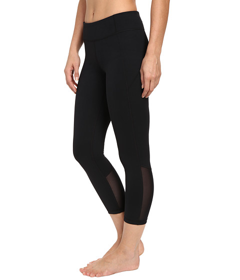 Under Armour Mirror Crop Pants - Black/Black/Silver