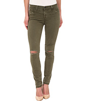 J Brand - Mid Rise Destructed Skinny Jeans in Jungle