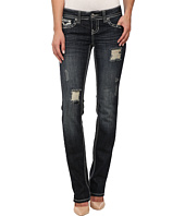 Antique Rivet - Straight Leg Jeans in Billboard