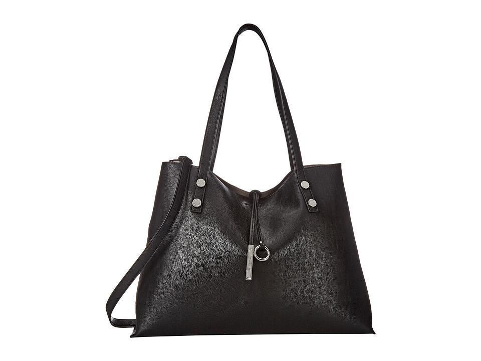 Calvin Klein - Reversible Tote (Black/Grey) Tote Handbags