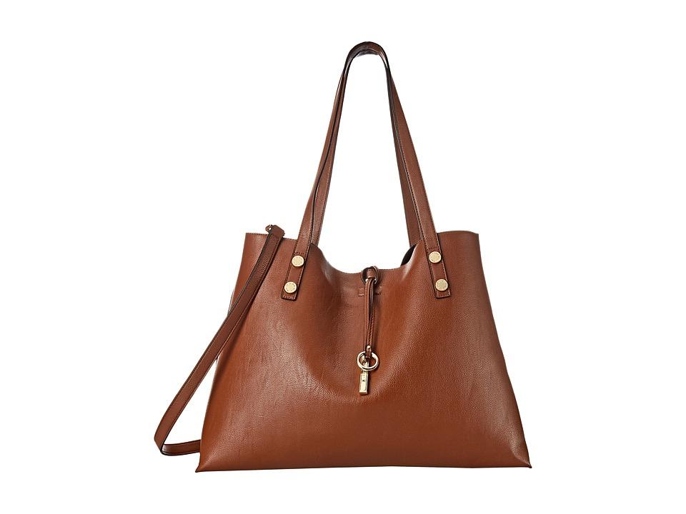 Calvin Klein - Reversible Tote (Luggage/Black) Tote Handbags
