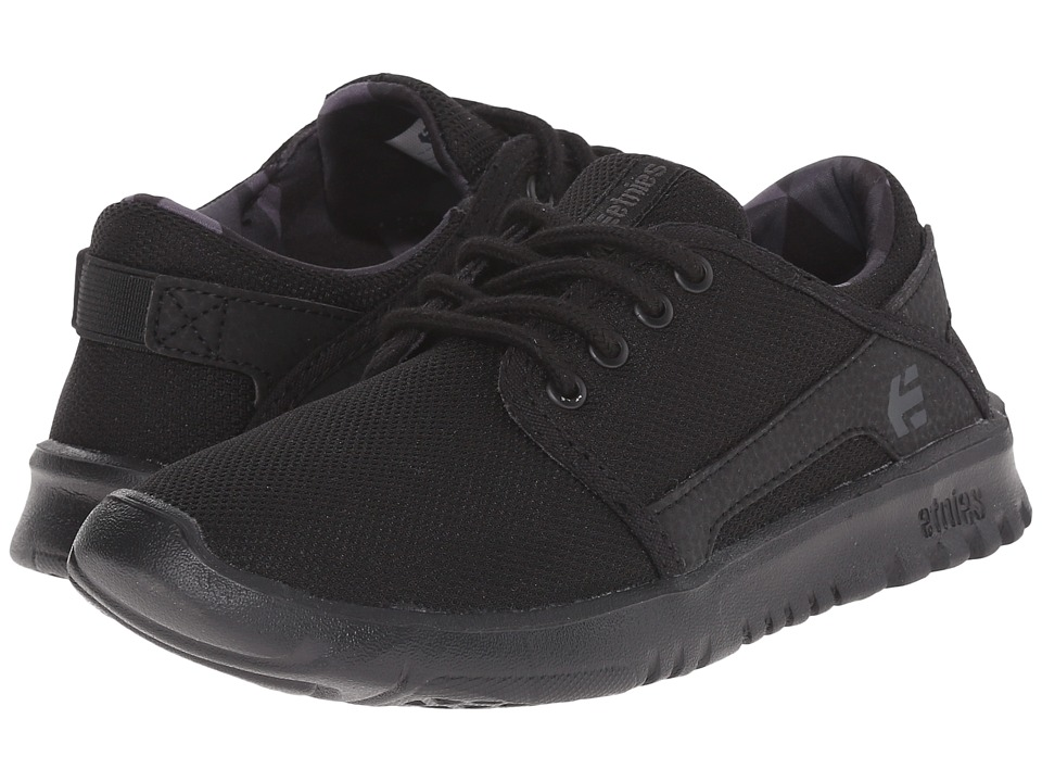 etnies Kids Scout Toddler/Little Kid/Big Kid Black/Grey/Black Boys Shoes