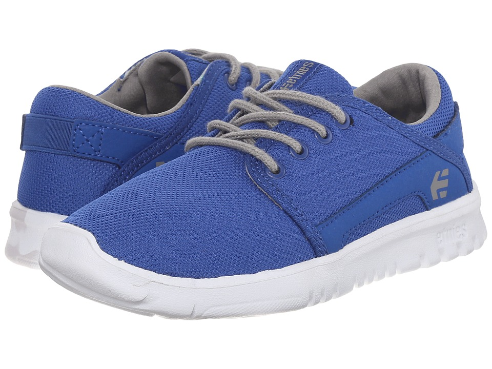 etnies Kids Scout Toddler/Little Kid/Big Kid Blue/Grey Boys Shoes