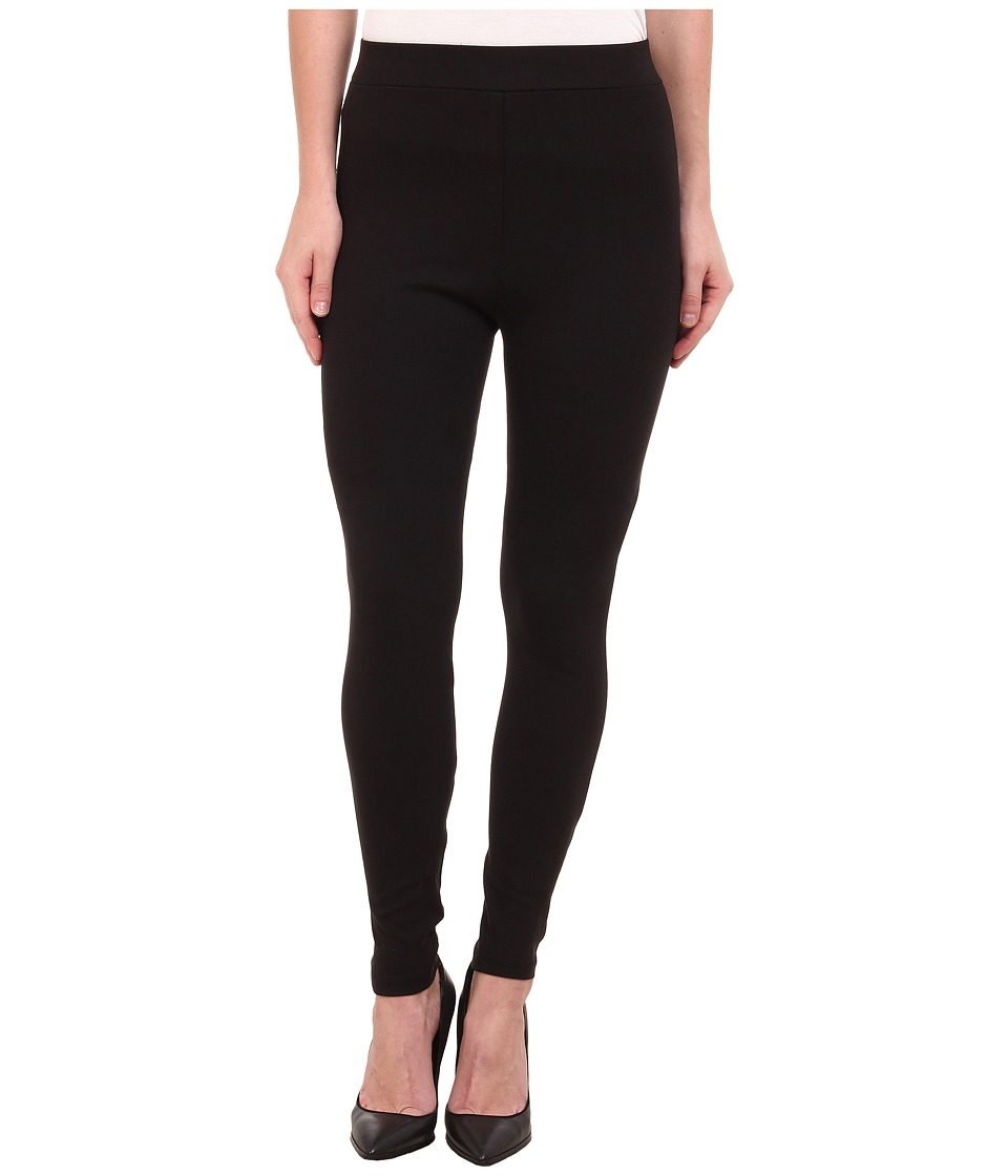 Miraclebody Jeans Pull On Ponte Legging Jet Black Womens Clothing