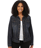 KUT from the Kloth - Plus Size Helena Jacket with Front Pocket Flap