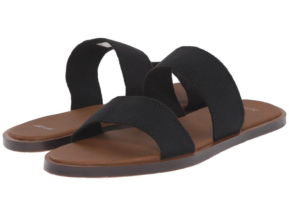 Sanuk Yoga Gora Gora (Black) Sandals