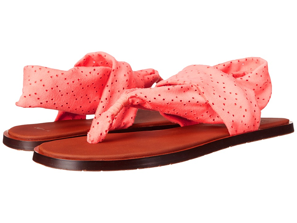 Sanuk Yoga Devine (Hot Coral) Women