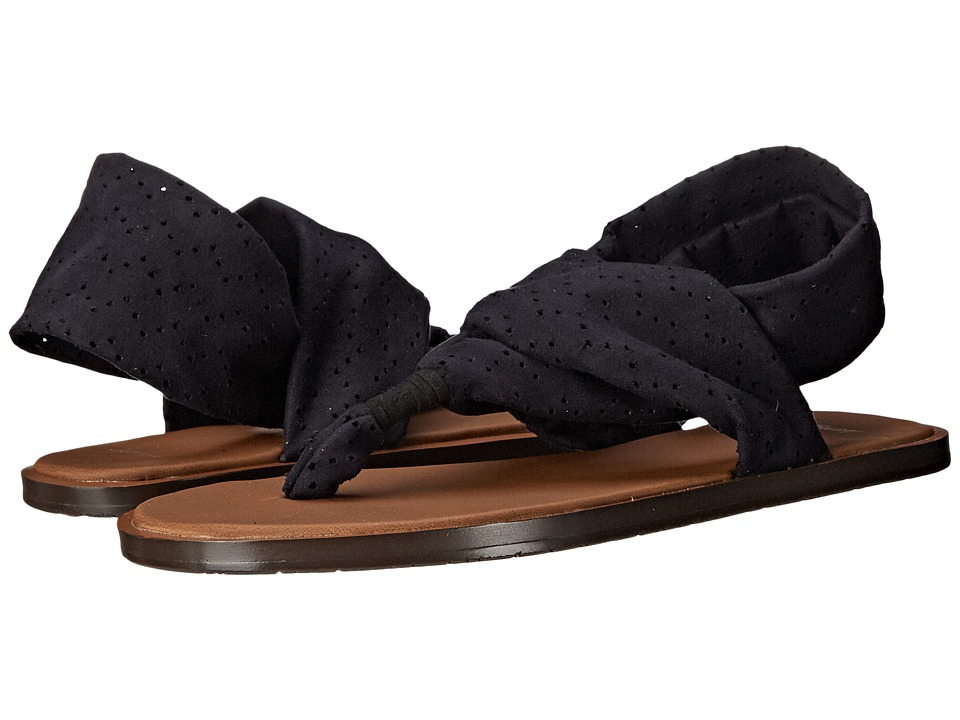 Sanuk Yoga Devine (Black) Women