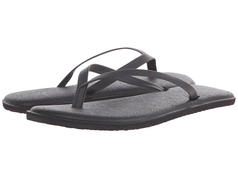 Sanuk Yoga Bliss Black Womens Sandals