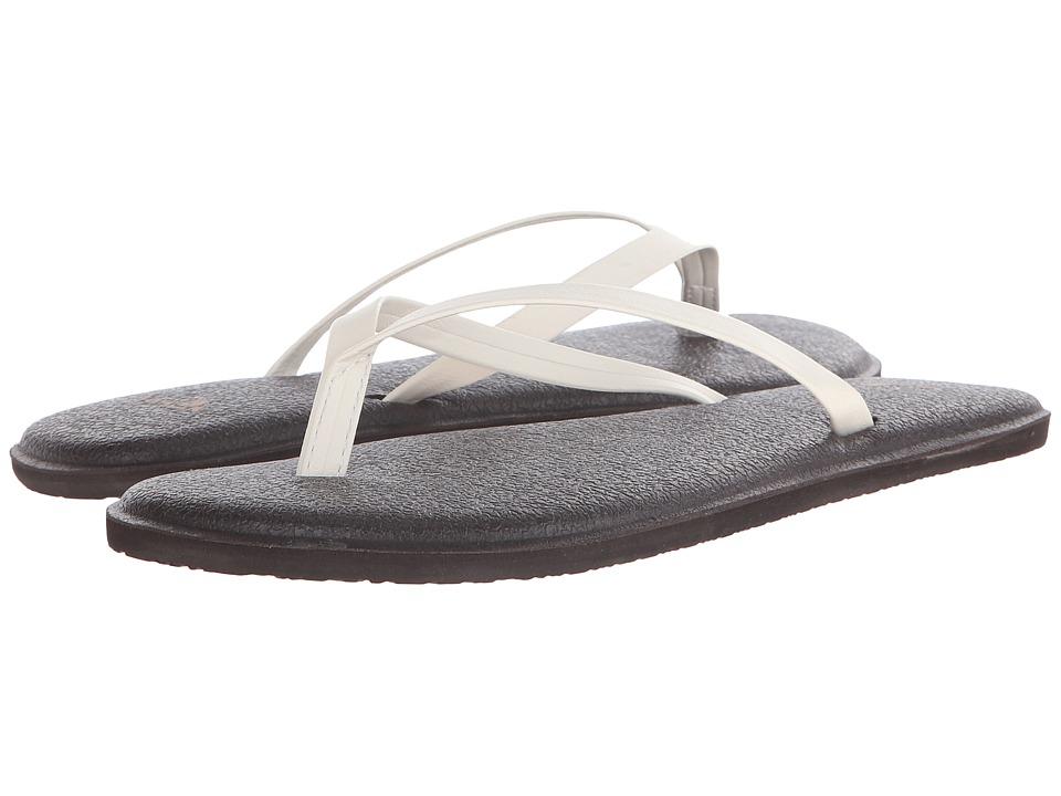 Sanuk Yoga Bliss Ivory Womens Sandals