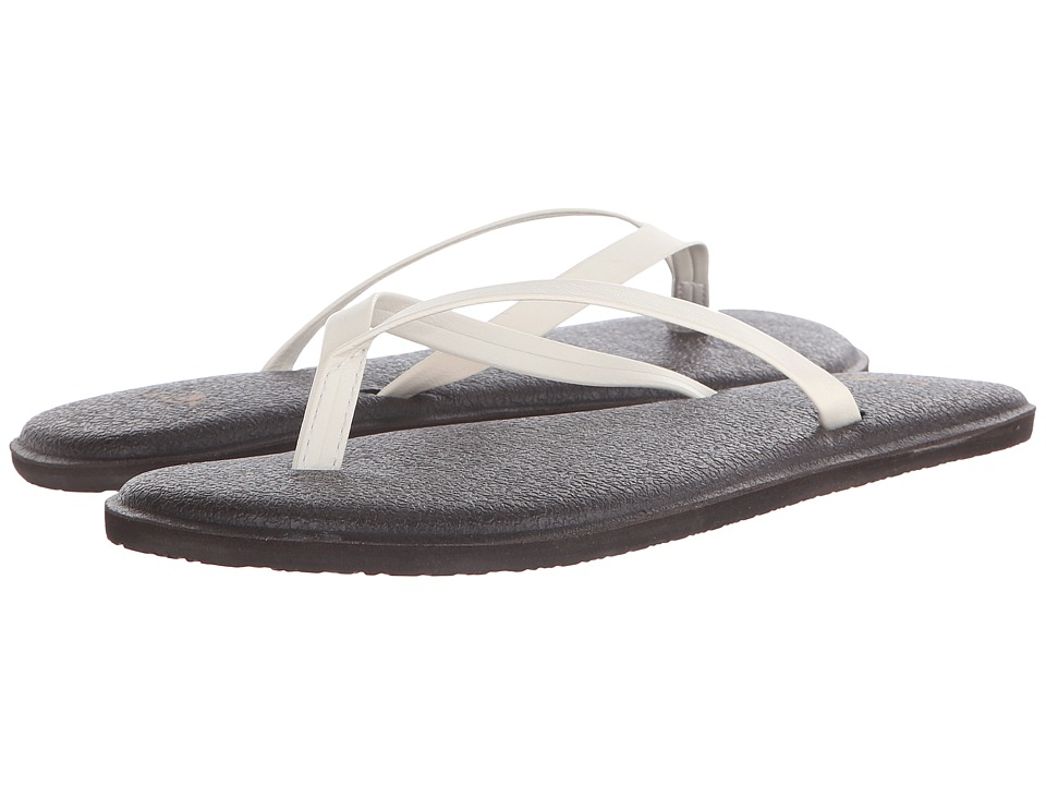 Sanuk Yoga Bliss (Ivory) Sandals