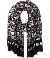 Marc by Marc Jacobs - Painted Leopard Scarf