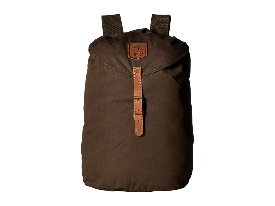 Fj llr ven - Greenland Backpack Small (Dark Olive) Backpack Bags