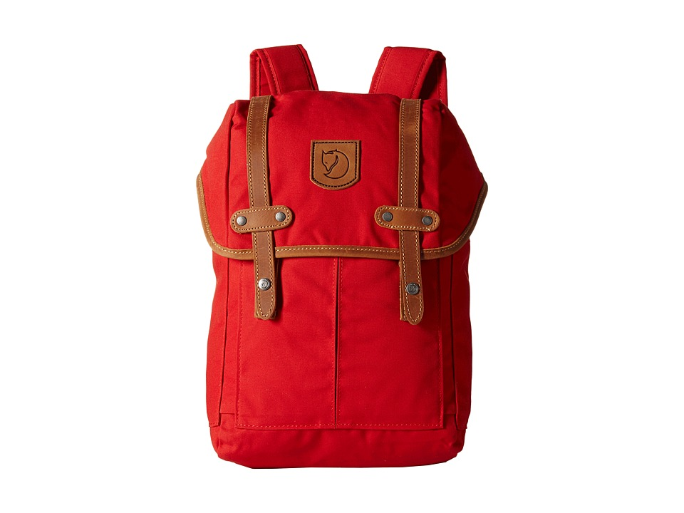 Fj llr ven - Rucksack No.21 Mini (Toddler/Little Kid) (Red) Backpack Bags