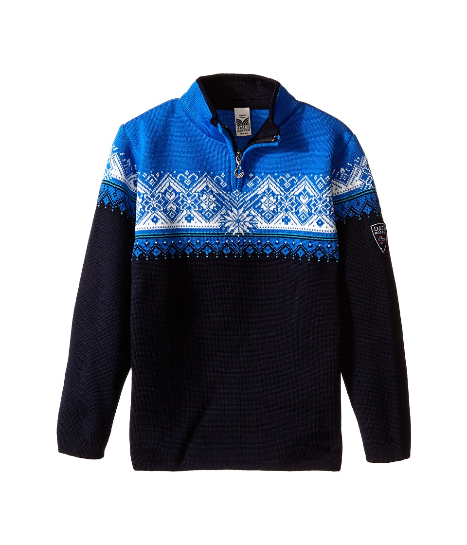 Dale of Norway - St. Moritz (Toddler/Little Kids/Big Kids) (Navy/Cobalt/Sochi Blue/Off White) Sweater