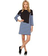 Marc by Marc Jacobs - Jacquelyn Stripe 3/4 Sleeve T-Shirt Dress