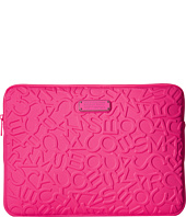 Marc by Marc Jacobs - Scrambled Logo Neoprene Tech 13 Computer Case