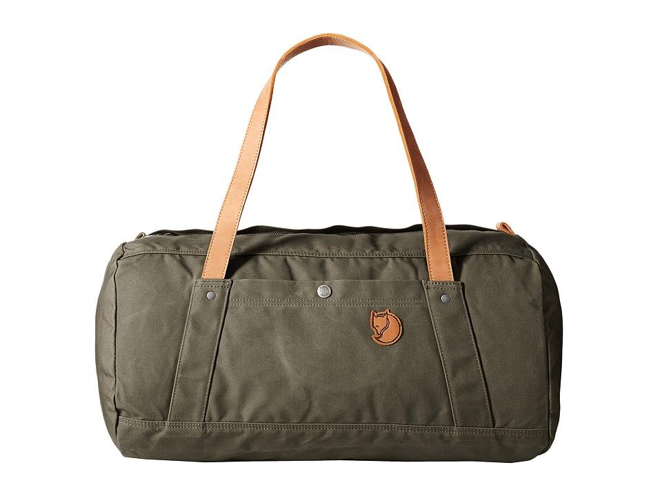 Fj llr ven - Duffel No. 4 (Dark Olive) Duffel Bags