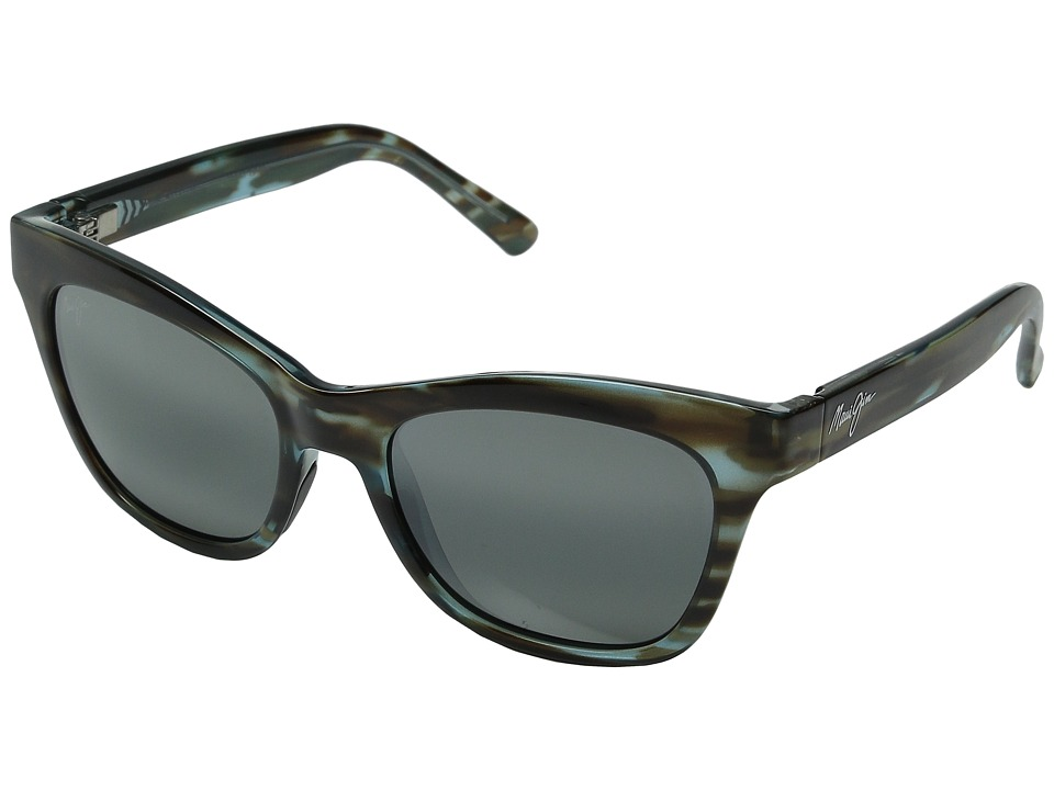 Maui Jim - Sweet Leilani (Brown Aquamarine/Neutral Grey) Fashion Sunglasses