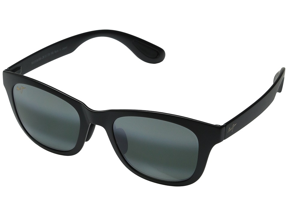 Maui Jim - Hana Bay (Matte Black/Neutral Grey) Fashion Sunglasses