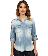 Sam Edelman - Split Back Blouse with Double Zip