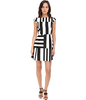 Kate Spade New York - Multi Stripe Kite Bow Back Dress