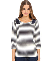 Kate Spade New York - Stripe Bow Top