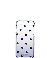 Kate Spade New York - Glitter Dot Clear Ombre Resin Phone Case for iPhone 6
