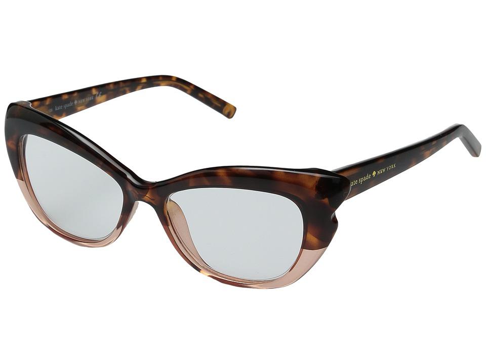 Kate Spade New York - Alva (Tortoise Pink Fade) Reading Glasses Sunglasses