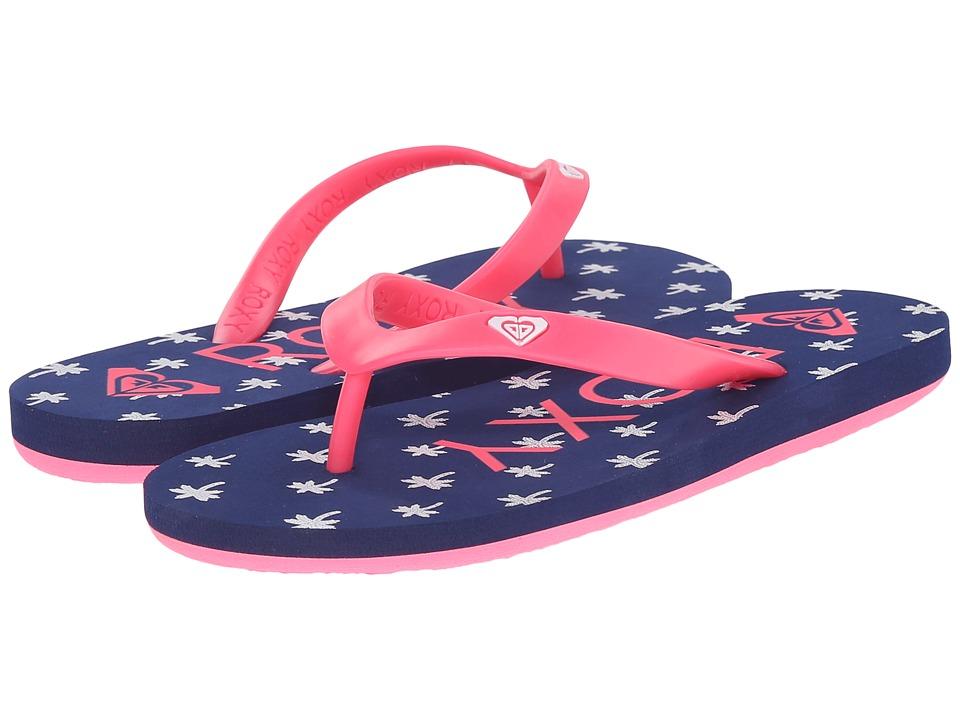 Roxy Kids - Tahiti V (Little Kid/Big Kid) (Blue Mist) Girls Shoes