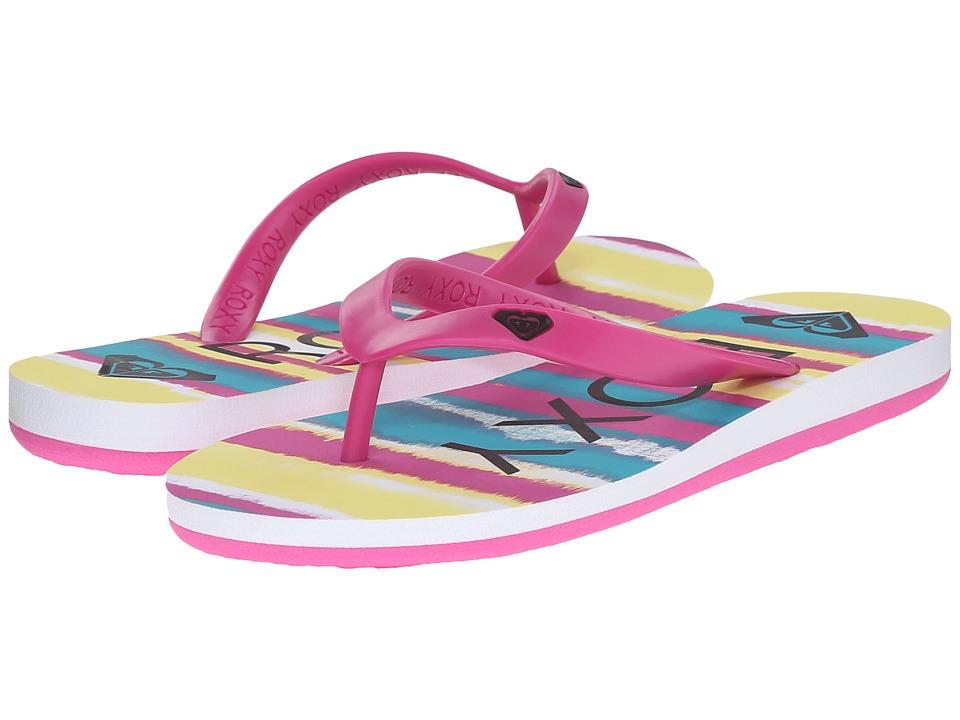 Roxy Kids Tahiti V Little Kid/Big Kid Fuchsia Girls Shoes