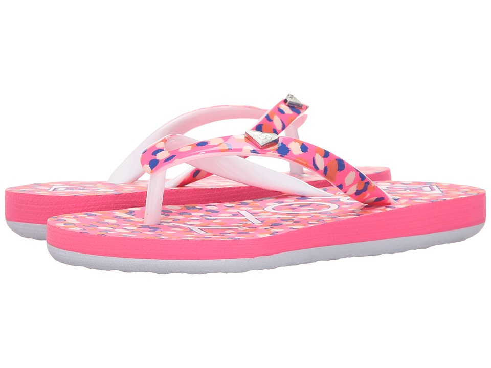 Roxy Kids Pebbles V Little Kid/Big Kid Pink Carnation Girls Shoes